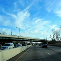 Parkway North Overpass, Парамус