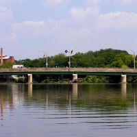 Wayne Avenue Bridge over the Passaic River, Paterson, New Jersey, Патерсон