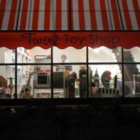 Twirl Toy Shop at Night in Pennington, Пеннингтон