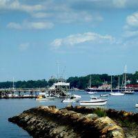 Ferry Point Jetty  - Raritan Yacht Club Cupola -  Arthur Kill - Perth Amboy, NJ -8.27.2008, Перт-Амбой