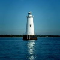 Great Beds Lighthouse - Raritan Bay - 10.21.2007, Перт-Амбой