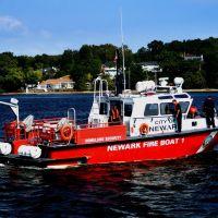 """Newarks Bravest"" - City Of Newark, NJ  Newark Fire Boat 1 - Arthur Kill - Perth Amboy, NJ - 9.24.2008, Перт-Амбой"