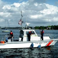 """Always Prepared"" - USCG Boat 41347 - Arthur Kill - Perth Amboy, NJ - 10.2.2007, Перт-Амбой"