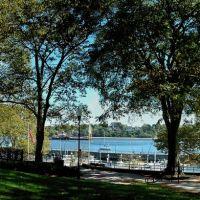 """Park With A View"" - The Municipal Marina, Arthur Kill & Staten Island - Bayview Park - Front St. - Perth Amboy, NJ - 8.9.2009, Перт-Амбой"