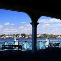 Perth Amboy Waterfront From Conference House Park Gazebo - Arthur Kill - Staten Island, NY - 4.30.2011, Перт-Амбой