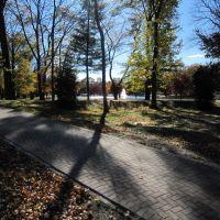 Path at Saddle River Park, Ridgewood, NJ, Риджвуд
