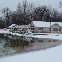 Graydon Pool in winter, Риджвуд