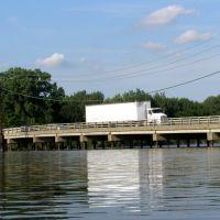 Edgewater Avenue Bridge over the Overpeck Creek, New Jersey, Риджефилд
