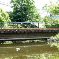 Lakeview Railroad Bridge over Bellmans Creek, New Jersey Meadowlands, Риджефилд