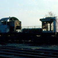 New York, Susquehanna and Western Railway Alco RS1 No. 256 on the dead line at Ridgefield Park, NJ, Риджефилд
