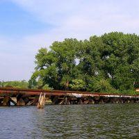NYS&W Railroad Bridge over the Hackensack River, New Jersey, Тинек