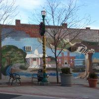 Street mural, Тинек