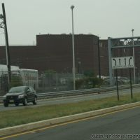 TRENTON STATE PRISON TRENTON, NJ USA SEEN FROM RT 129, Трентон