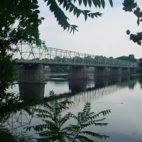 The Calhoun Street Brige from Morrisville, PA to Trenton, NJ, Трентон