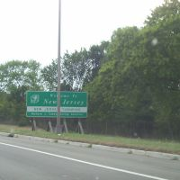 New Jersey from New York on I-80, Форт-Ли