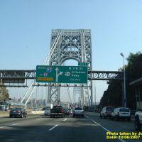 Entering in the George Washington Bridge, Форт-Ли