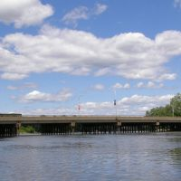 Cedar Lane Bridge over the Hackensack River, New Jersey, Хакенсак