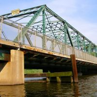 Salem Street Bridge over the Hackensack River, New Jersey, Хакенсак