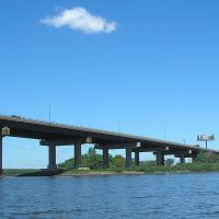 Interstate 80 Bridge over the Hackensack River, New Jersey, Хакенсак