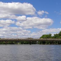 Fairleigh Dickinson Footbridge over the Hackensack River, New Jersey, Хакенсак