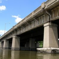 Route 4 Bridge over the Hackensack River, New Jersey, Хакенсак