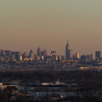 NY at dusk, Хакенсак