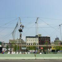 New York - Usa - Hudson River Park, Trapeze School, Хобокен
