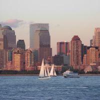 Serie Atardecer en NY sin las torres, homenaje 1 de 3, Хобокен