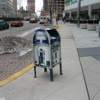 R2-D2 Mailbox, Jersey City, Хобокен