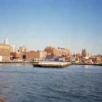 The Carpathia brought the Titanic survivors to Pier 54 - Oct 1994 (scanned), Хобокен