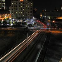 Light rail near Newport, Хобокен