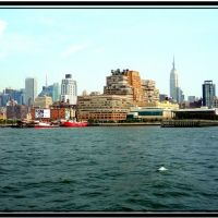 Panoramic view of New York - NY, Хобокен