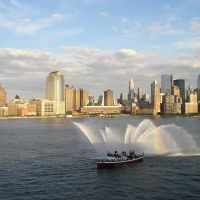 New York Skyline from the Hudson River - H&M, Хобокен