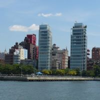 View from Hudson River Park, New York City, Хобокен