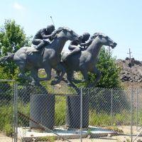 """Athletes of Race"" by sculptor Thomas Schomberg, Черри-Хилл"