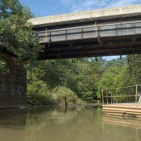 Cooper River Under Rail Road Bridge, Черри-Хилл