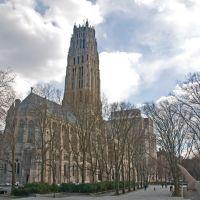 Riverside Church, closely associated with Harry Emerson Fosdick (1878-1969) and John D. Rockefeller, Jr. (1874-1960), New York, Эджуотер
