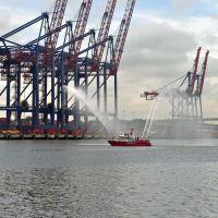 NY Container Terminal Cranes, Arthur Kills, Арлингтон