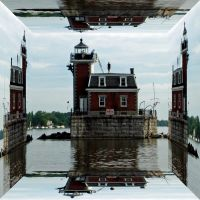 Hudson Athens Lighthouse, Hudson, NY 12534, USA, Атенс