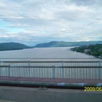NEWBURGH- BECON BRIDGE AND THE HUDSON RIVER,NY,USA, Балмвилл