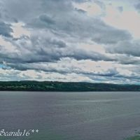 Beauty from the Imponent Hudson River,(From I-84) New York,USA, Бикон