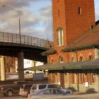 copyrighted__  Lackawanna Train Station by geliza, Бингамтон