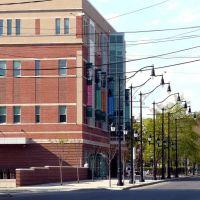 (copyrighted)   Binghamton University Downtown Center, Бингамтон