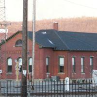 near the railroad tracks, Бингамтон
