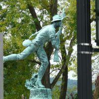 (copyrighted) war memorial statue, Бингамтон