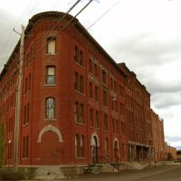 (copyrighted)  old warehouse/factory now soho apartments, Бингамтон