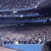 Old Yankee Stadium - 3rd Base Line - 2001 World Series Game 4 - H&M, Бронкс