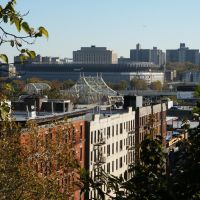 Yankee Stadium from Sugar Hill