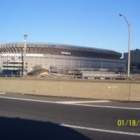 new Stadium @ left of Yankee Stadium,Bronx NYC, Бронкс
