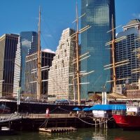 New York City, South Street Seaport, Бруклин